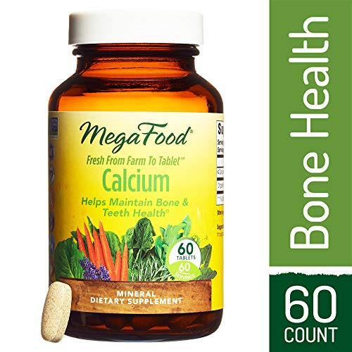 (MegaFood - Calcium, Supports Healthy Bones & Teeth, 60 Tablets)