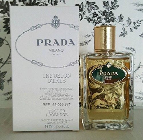 Milano Prada Infusion (Prada Milano Infusion D'Iris Eau De Parfum Spray For Women 3.4 oz / 100 ml)