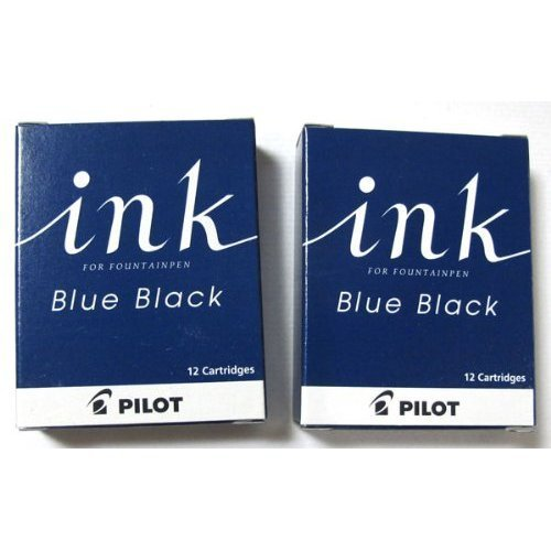 Pilot fountain pen cartridge ink blue-black [2 boxes] IRF-12S-BB