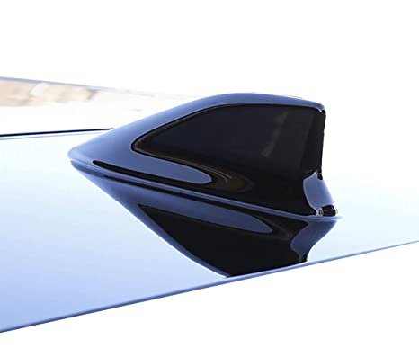 Painting Gray Shark Fin Car Exterior FM//AM Antenna Aerial Radio Replacement
