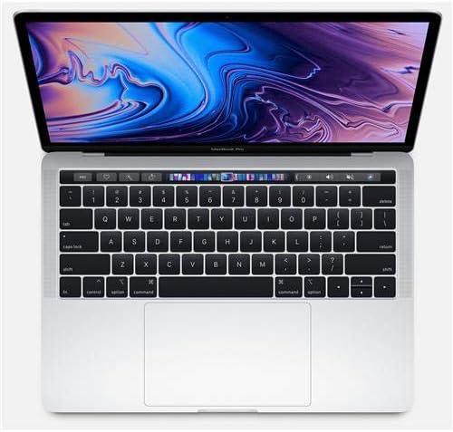 "Apple 13.3"" MacBook Pro with Touch Bar, 2.7GHz Quad-Core Intel Core i7, 16GB RAM, 512GB SSD, Iris Plus 655 - Silver (Mid 2018) 51oRfBcVmYL"