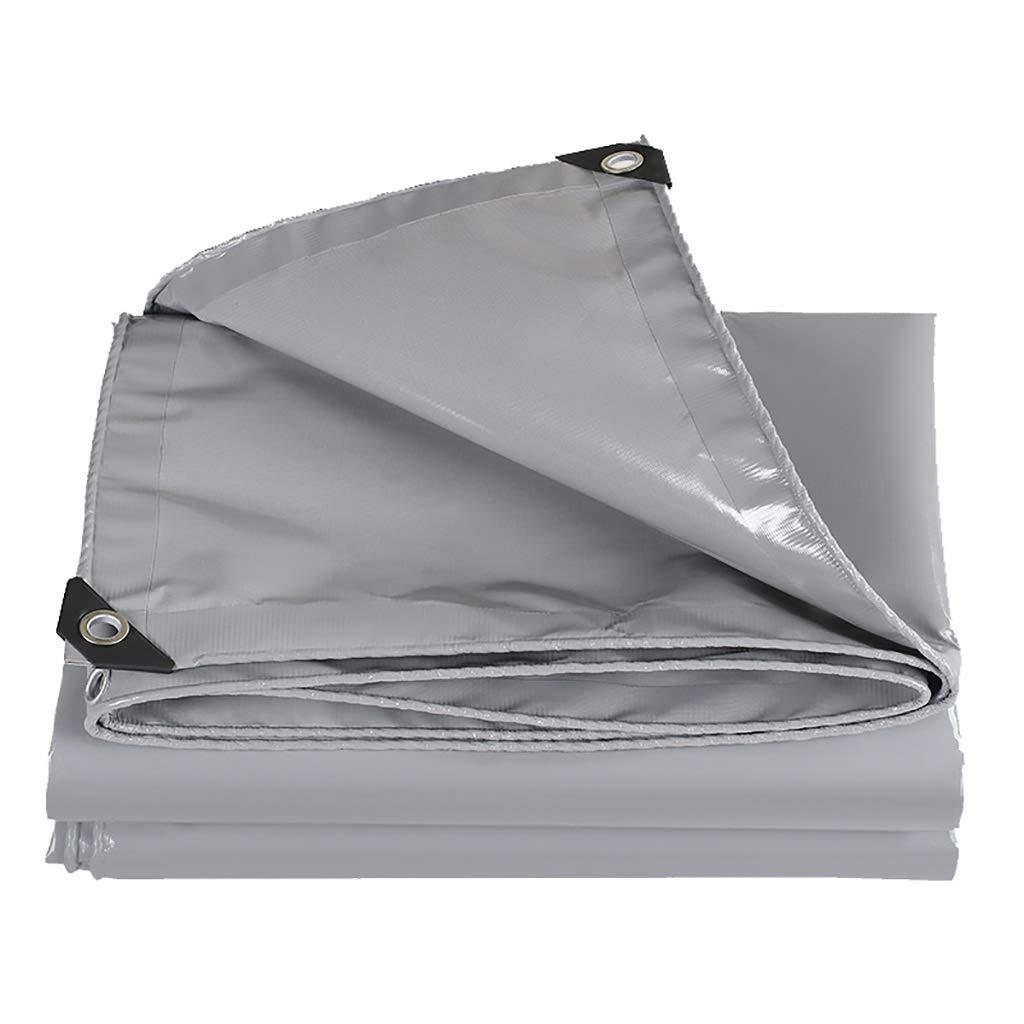 Hfspb Graue Poncho-Planen-Sonnenschutzplanen-Outdoor-Sonnenschutzplanengewicht  350 g Quadratmeter, Dicke  0,46 mm