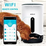 Petwant Automatic Pet Feeder WIFI Smart Food Dispenser for Cats and Dogs Controlled by Smart Phones for Dry Food