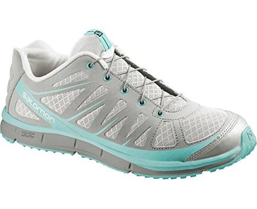 Salomon Damen Kalalau W Sportschuhe light grey/titanium/topaz blue