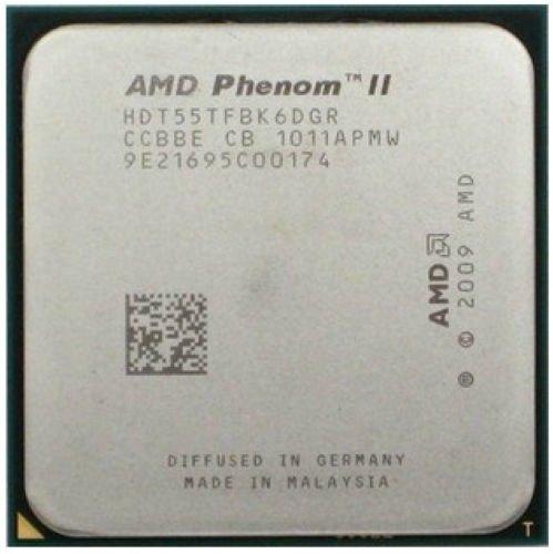 AMD Phenom II X6 1055T HDT55TFBK6DGR 2.8GHz Processor CPU Socket AM3 938-pin 125W (Amd Phenom X6 Processor)