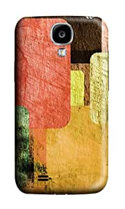 Samsung S4 Case,VUTTOO Cover With Photo: Vintage Colorful For Samsung Galaxy S4 I9500 - PC Hard Case
