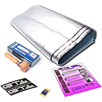 GTMat 36sqft (9Sheets of 18X32) Supreme 110mil with Dynamat Roller! - Car Audio & Heat Shield Sound Deadener Material