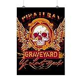 Pirate Bay Grave Yard Lost Souls Matte/Glossy Poster A2 (60cm x 42cm)   Wellcoda
