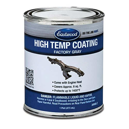 Eastwood Factory Finish Gray High Temperature Durability Coating 1 Pint Aerosol