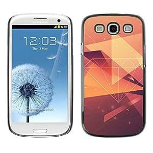 MOBMART Carcasa Funda Case Cover Armor Shell PARA Samsung Galaxy S3 - Radiant Brown Crystals