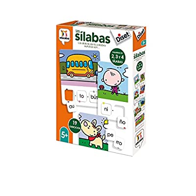 Diset – Toy Educational Las SILABAS (68962): Toys & Games