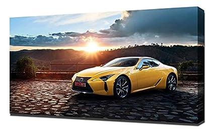 Amazon Com Lilarama Usa 2017 Lexus Lc500 Coupe 4k Canvas Art