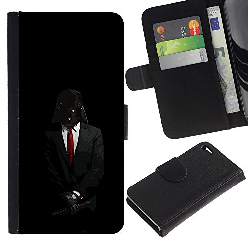 OMEGA Case / Apple Iphone 4 / 4S / UNTO THE LORD / Cuero PU Delgado caso Billetera cubierta Shell Armor Funda Case Cover Wallet Credit Card