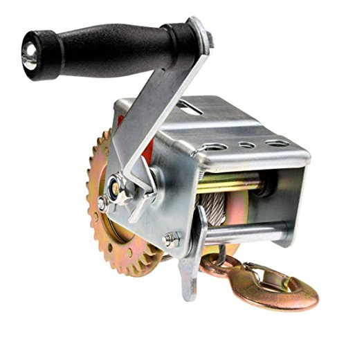 Utheing 600 lbs Hand Winch,Heavy Duty Capacity Winch ATV Boat Trailer by utheing (Image #1)