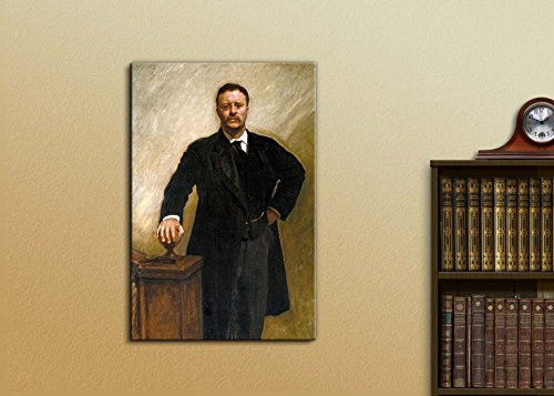 Portrait of President Theodore Roosevelt Inspirational Famous People Series