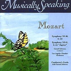 Conductor's Guide to Mozart's Symphony No. 40 & Symphony No. 41