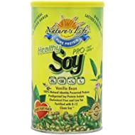 Nature's Life Soy, Healthly Pro-95/Prolife, Vanilla Bean, Powder, Net Wt. 520 Gm (1.1 Lb).