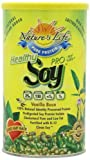 Nature's Life Soy, Healthly Pro-95/Prolife, Vanilla Bean, Powder, Net Wt. 520 Gm (1.1 Lb). For Sale