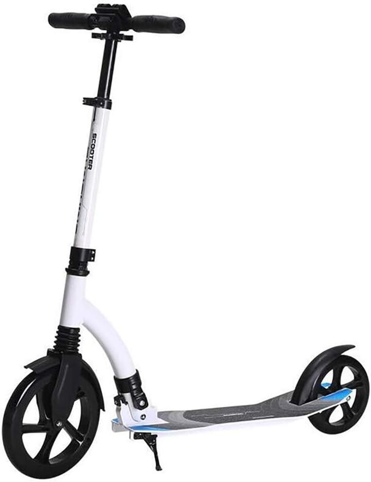 大人用 キックボード 大きい車輪は運ぶこと容易な大人の通勤距離の学校の操業のために適した折り畳み式2の車輪のスクーター (Color : Style1) Style1