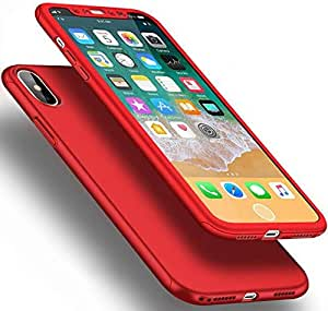 360 IPHONE X CASE -Red