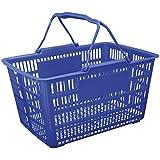 Cesta de compras 43 X 31 X 24 cm azul - Pratica - Paramount