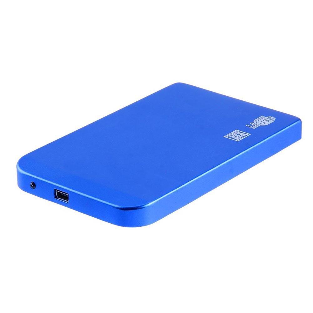 Ultra Hard Drive Box  Case Aluminum Enclosure Thin 2.5in USB3.0 SATA SSD HDD