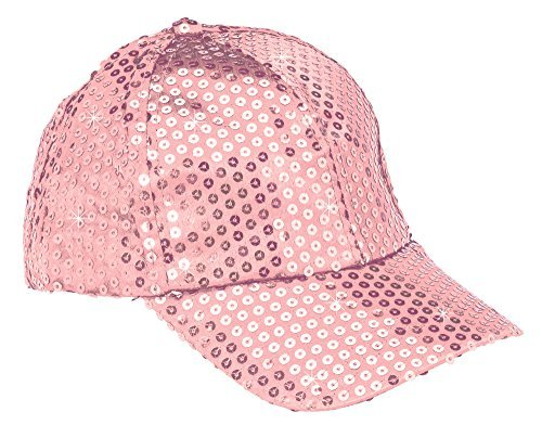 The Paragon Baseball Cap for Women - Gold Sequin Hat, Adjustable Strap Ball Cap -
