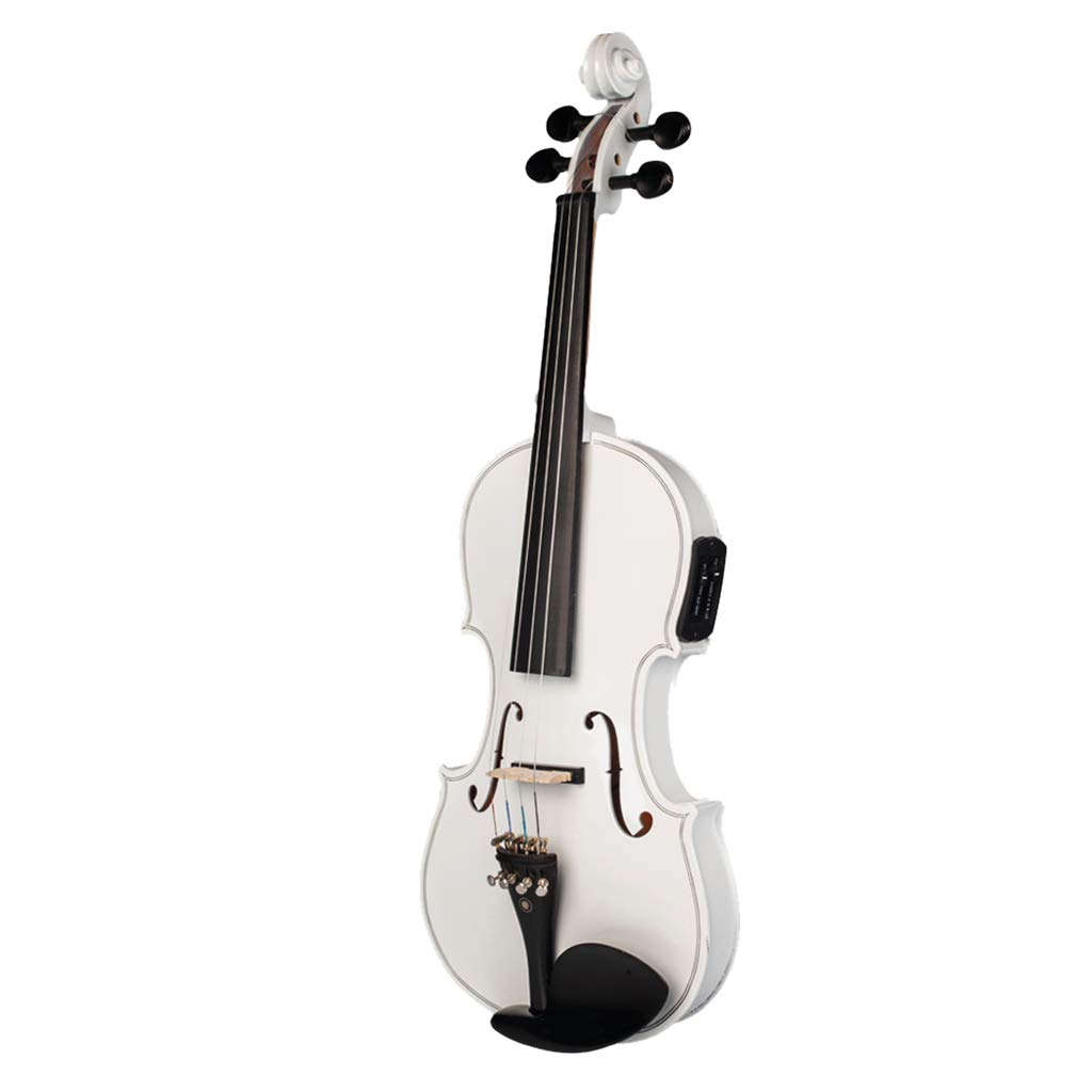 CUTICATE 4/4 Electric Violin Full Size with Equalizer Musical String Instrument