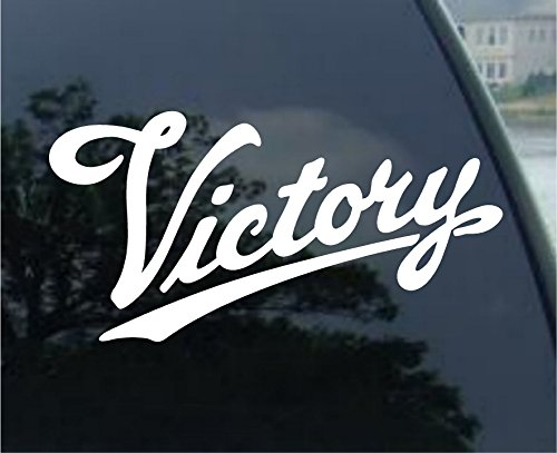 VICTORY MOTORCYCLE Car Bumper Laptop Sticker Decal (7