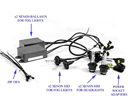 amazon com cpw (tm) xenon hid d2s low beam fog light bulb ignition wiring harness cpw (tm) xenon hid d2s low beam fog light bulb ballast kit