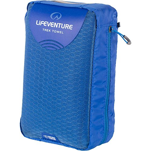 Trek Microfibre Towel (Lifeventure MicroFibre Trek Towel Giant - Blue)