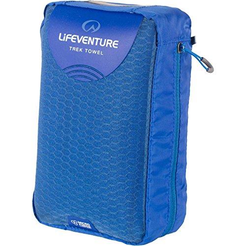 Lifeventure MicroFibre Trek Towel Giant - Blue - Microfibre Trek Towel