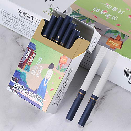 Yunnan Chinese Herbal Cigarettes, Green Tea Menthol Cigarettes, Smoke-Free-Nicotine-Free, Can Replace Cigarettes-Cigarettes That Can Clean The Lungs (1 Pack,Chengdu Scenery)