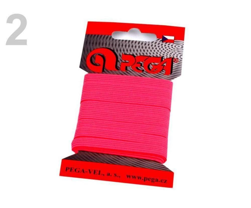 Gr/ün Elektrisch Neon W/äscheband//Gummiband Breite 7mm Verschiedene Farben 1kart 1 Gummilitzen W/äschegummis Karten Gummib/änder 1805 Kleine Packungen Kurzwaren