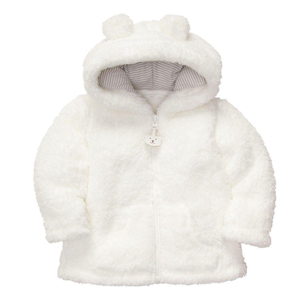 Robemon Toddler Kids Bébé Garçons Filles Vêtements Zipper Tops Manteau Vestes Chaud Outwear