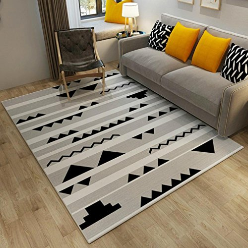 Geometric Elements Decor Area Rugs For Living Room Bedroom Kitchen  Decorative Modern Soft Rugs , A