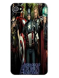 Amy LaGrasso Stars Marvel Avengers Captain America Fashionable Shell TPU Iphone 4S Cover Whole Price Now