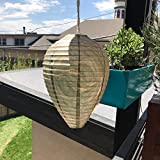 Patio Eden - Wasp Nest Decoy - 3 pack- Eco Friendly Hanging Wasp Repellent