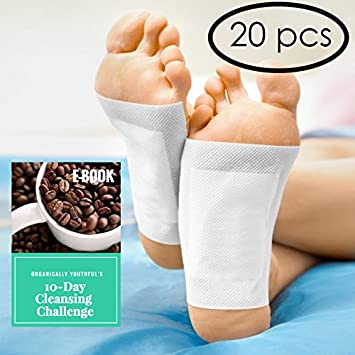 Amazon Japanese Foot Pads For Relieving Pain And Discomfort