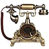 FADACAI Retro old-fashioned European telephone home seat Rotate dial