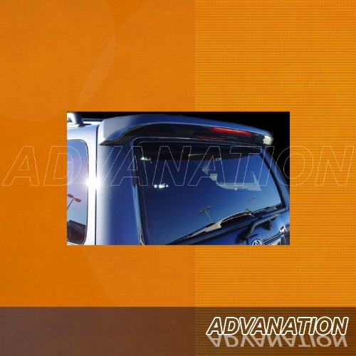 (Advan-Emotion Toyota 4Runner 03-09 ABS Trunk Rear Wing Spoiler Unpainted Primer)