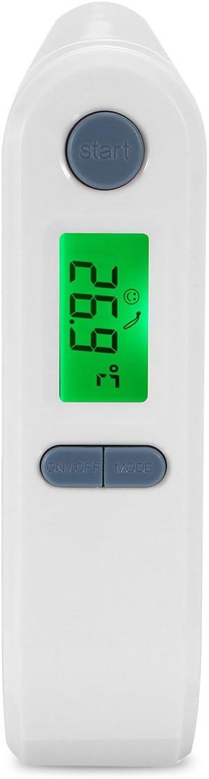 VIDOO Tf-800 Tragbares Babythermometer Digital LCD Stirn Ohr InfraRotdetektor Dual Mode