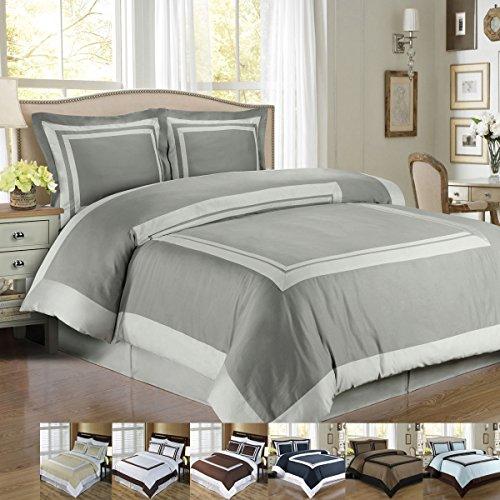 Queen Cotton Comforter Set - 8