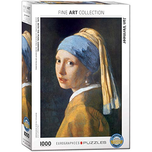 EuroGraphics Girl with A Pearl Earring by Vermeer 1000 Piece Puzzle