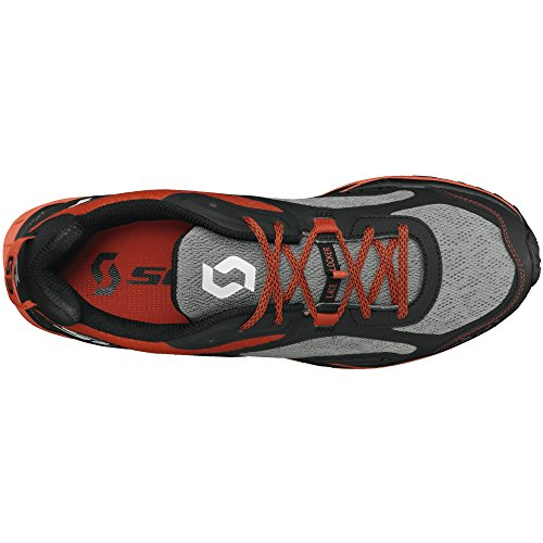 Scott running Zapatilla eride grip 4.0-grey/red-9,5 usa