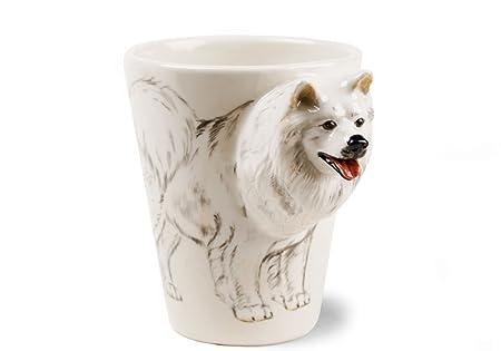 39dc197f3de Samoyed Gift, Coffee Mug Handmade by Blue Witch