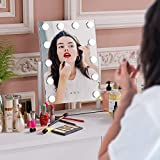Homfa Hollywood Makeup Mirror with Lights Lighted