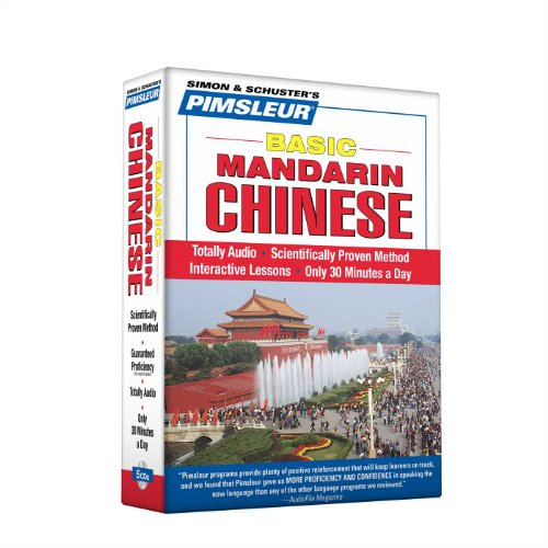 Pimsleur Chinese (Mandarin) Basic Course - Level 1 Lessons 1-10 CD: Learn to Speak and Understand Mandarin Chinese with Pimsleur Language Programs by Brand: Pimsleur
