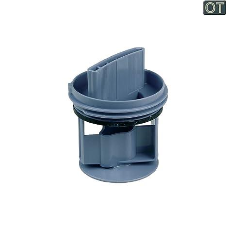 vioks – Filtro antipelusa Colador Filtro para eliminar Infusor Colador para bomba lavadora como Bosch Siemens 00647920
