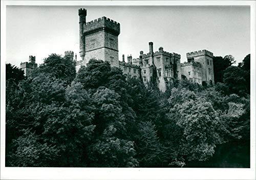 Ireland Lismore Castle - Vintage photo of Ireland: Castle Lismore.